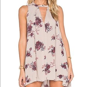 Free People Tree Swing Dress Snap Out of It XS